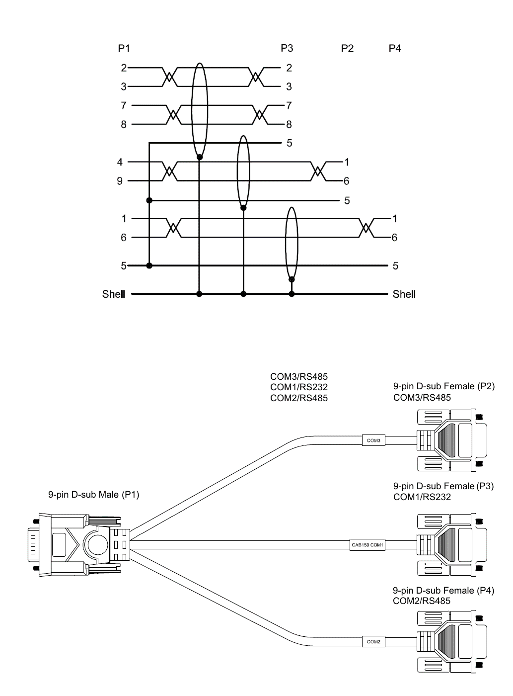Rs232 Pin Out Diagram