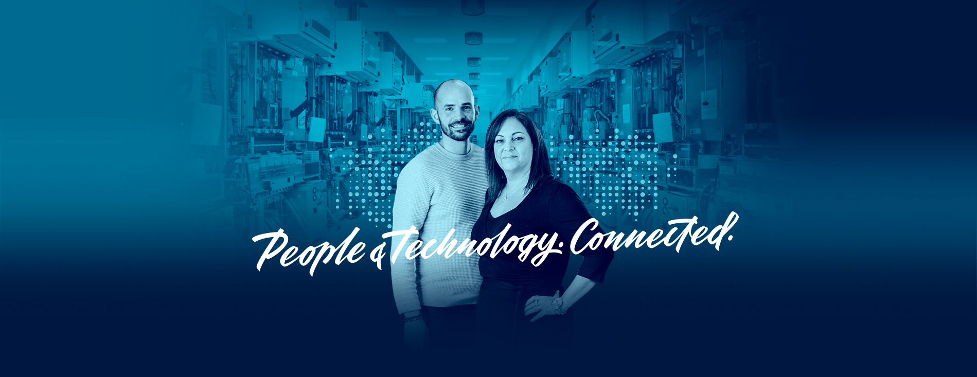 people technology connected